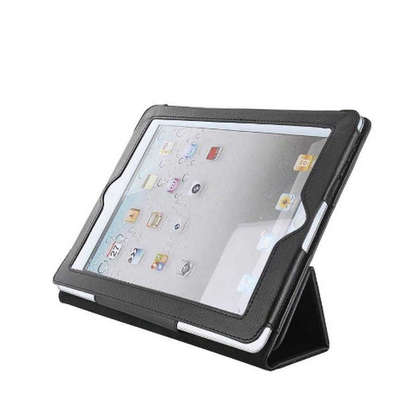 TABLET CASE iPAD2 STAND BLACK