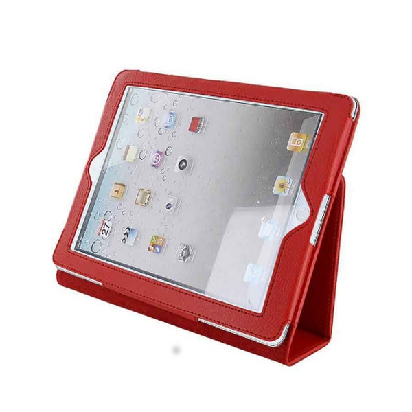 TABLET CASE iPAD2 STAND RED