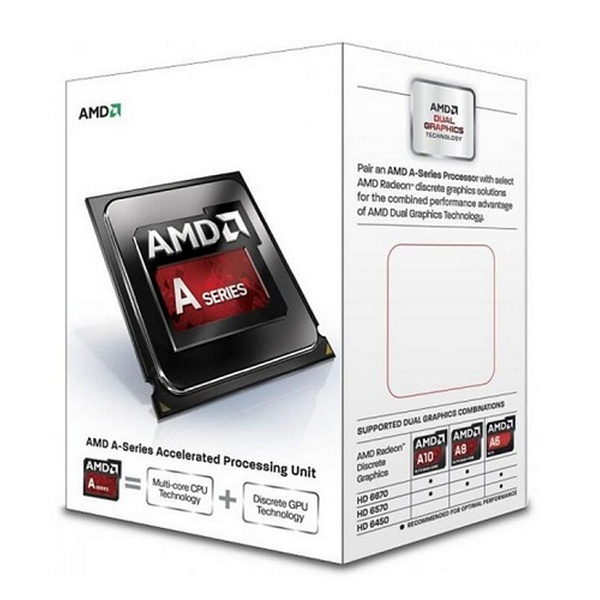 AMD A4-6300  3.70GHz 2CORES ATI-HD8370D 1MB 065W FM2