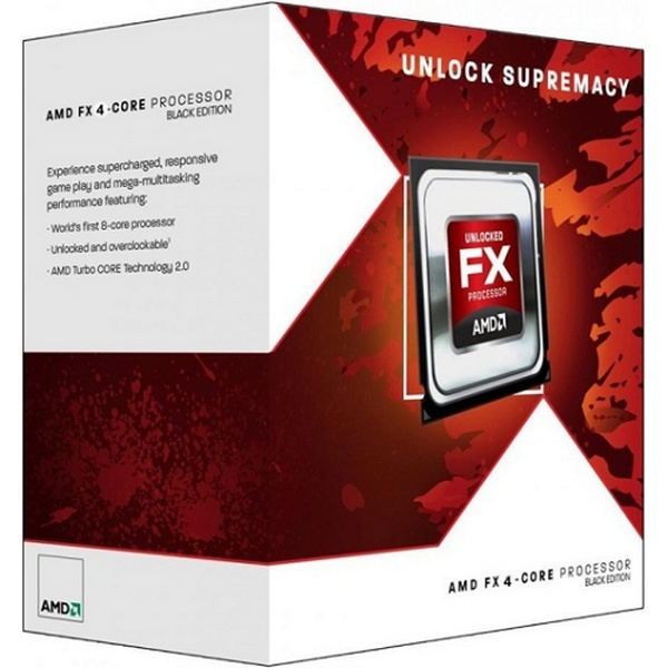 AMD FX-4300 3.80GHz 4CORES 08MB 095W BLACK AM3+