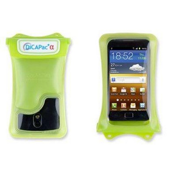 DICAPAC WP-C1 WATERPROOF CASE FOR SMART PHONE GREEN