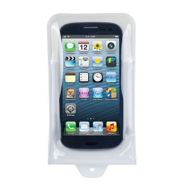 DICAPAC WP-C10i WATERPROOF CASE FOR SMART PHONE BLACK