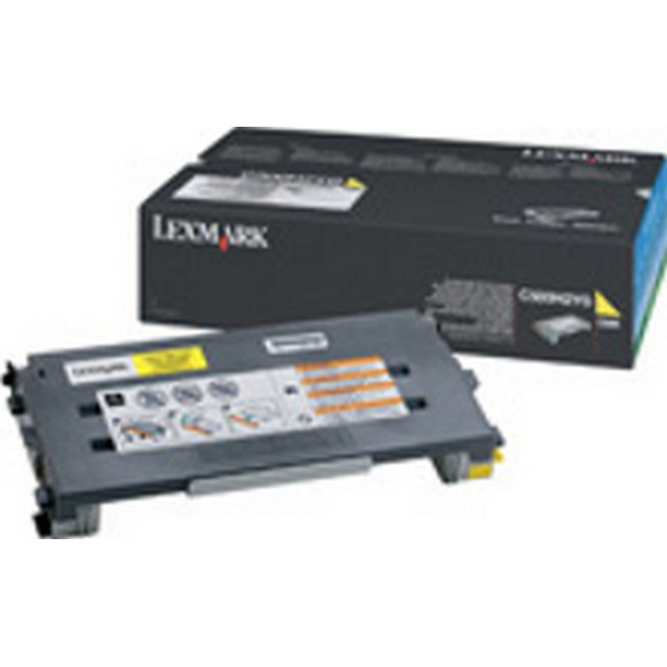 TONER HIGH YELLOW FOR C500-X500N-X502N 3000PAGES