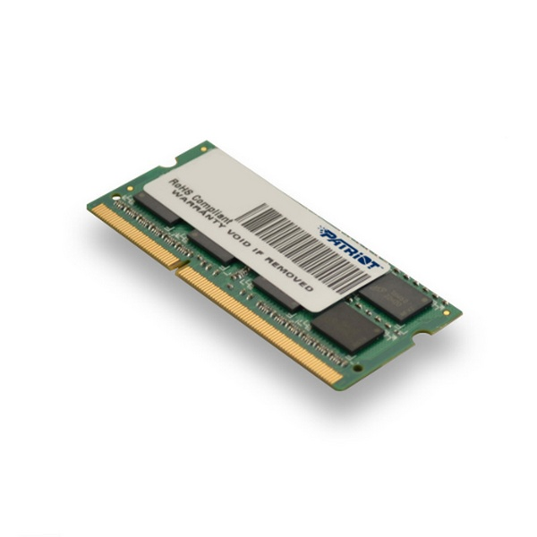PATRIOT DDR3-SOD 4096MB 1600MHz PC3-12800 LOW-V 1R/2S