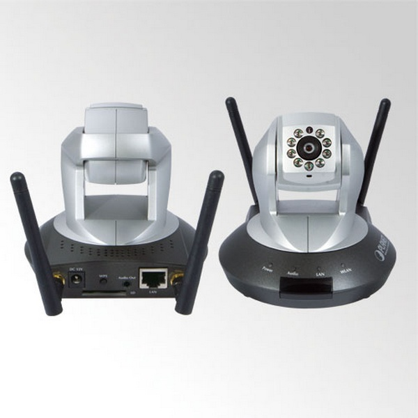 INTERNET WIRELESS IP CAMERA 1.3 MEGA PIXEL PT IR