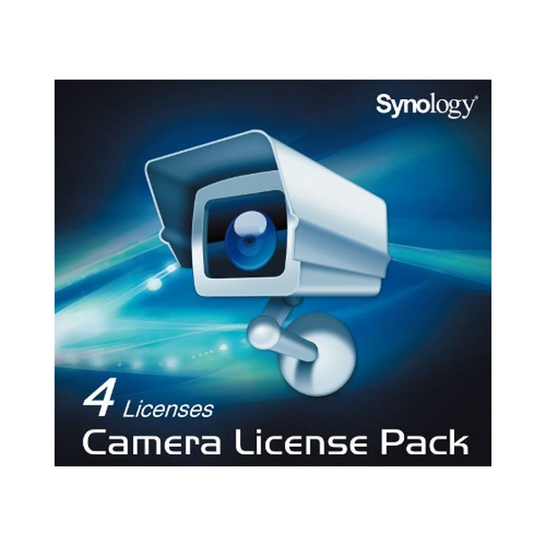 SYNOLOGY 4 IP CAMERA LICENCE PACK