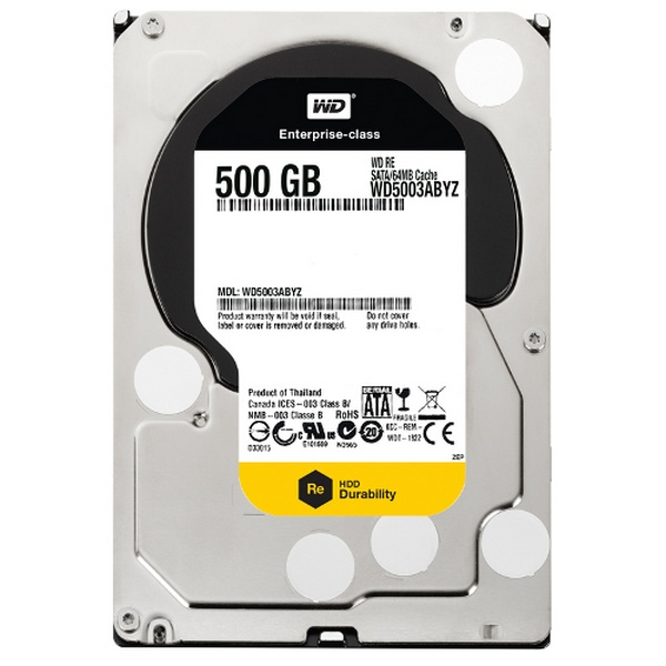 HDD RE 500GB/SATAIII/7200/64MB CACHE
